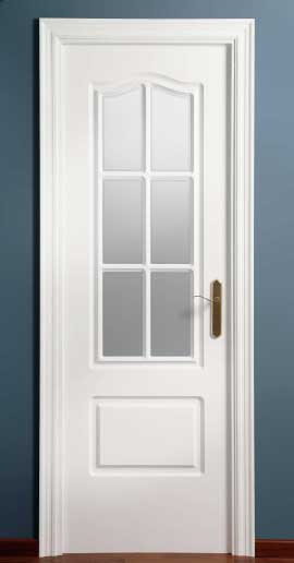 Puertas para tu hogar innova parquets maresme for Puertas blancas con vidrio